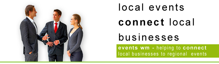 Connect with West Midlands based events