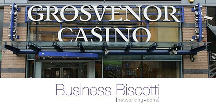 Business Biscotti meets at Grosvenor Casino to connect with local businesses