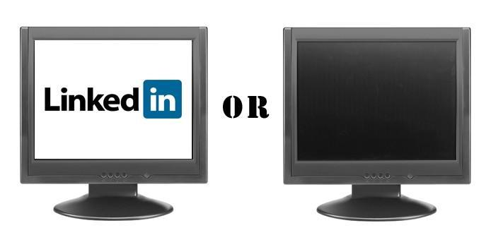 Is it better to be LinkedIn than LinkedOut