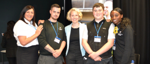 Apprentices inspire school pupils in Wolverhampton
