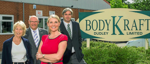 BodyKraft a family-run accident repair firm at Kingswinford is celebrating 15 years of success.
