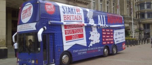 Startup Britain Bus Visits Birmingham to Tackle Rise in Midlands Unemployment Rate