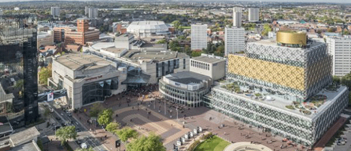 Birmingham's visitor numbers reach new high