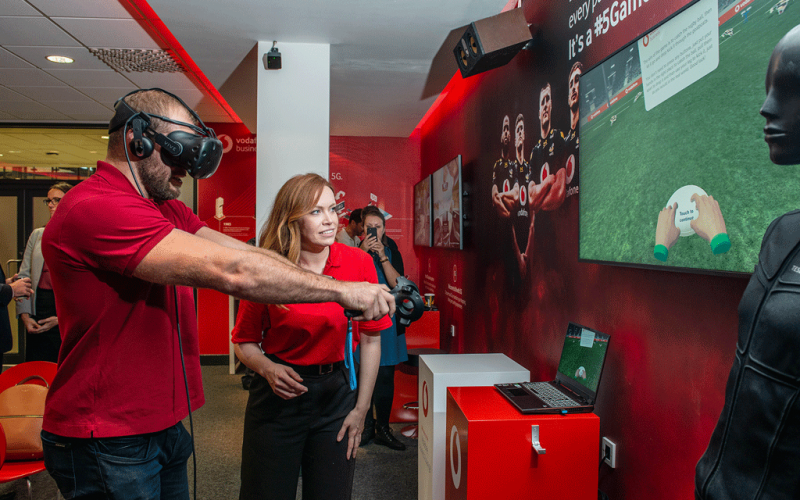 Local Businesses Experience Latest 5G Technology at the new Ricoh Arena Vodafone Business Lounge