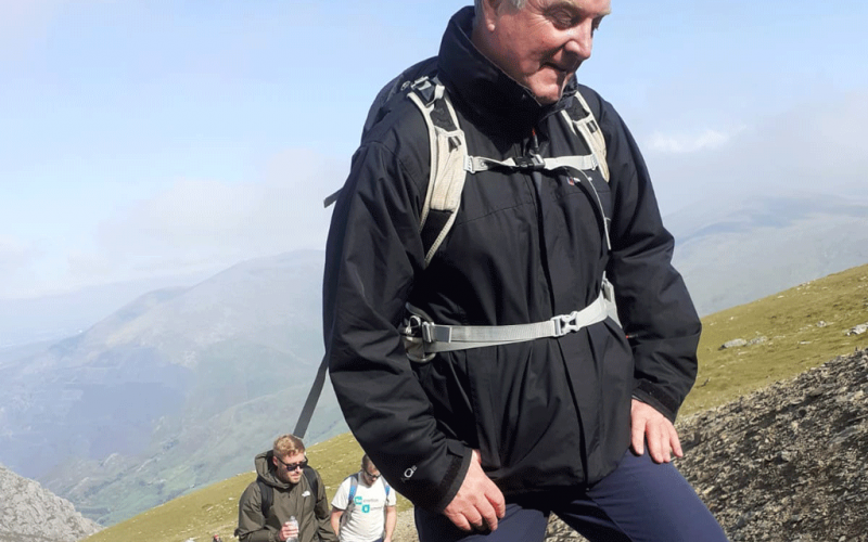 Staff at Bellway step up to the Snowdon challenge for Cancer Research UK