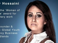 Was it easy for Melody Hossaini to connect to the export of products in the apprentice?