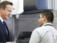 Prime Minister praises the Manufacturing Technology Centre's work with apprentices