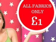 Birmingham based Business Launches the UK's 1st Ever Online Fabric Pound Store