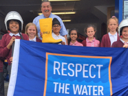 Midlands pupils fill their boots for the RNLI