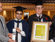 Morgan Hunt Resilience Award rewards higher education success of BMW technician