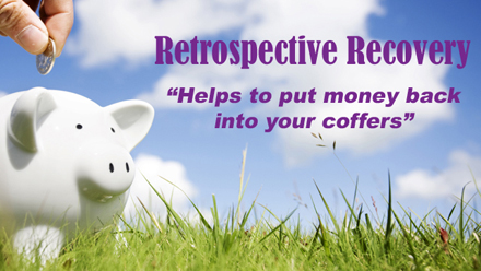 Claim Retrospective Recovery on your business utilities