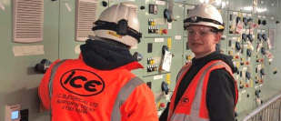Apprentices take centre stage at IC Electrical